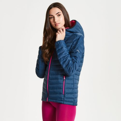 Women's Elative Down Fill Insulated Jacket Blue Wing
